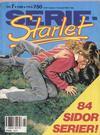 Cover for Seriestarlet (Semic, 1986 series) #7/1988