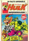 Cover for Hulk album (Atlantic Förlags AB, 1979 series) #1