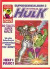 Cover for Hulk album (Atlantic Förlags AB, 1979 series) #2