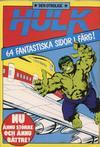 Cover for Hulk album (Atlantic Förlags AB, 1979 series) #7