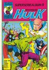 Cover for Hulk album (Atlantic Förlags AB, 1979 series) #9