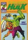 Cover for Hulk pocket (Atlantic Förlags AB, 1979 series) #2