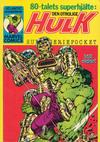 Cover for Hulk pocket (Atlantic Förlags AB, 1979 series) #3