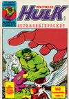 Cover for Hulk pocket (Atlantic Förlags AB, 1979 series) #5