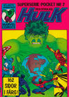 Cover for Hulk pocket (Atlantic Förlags AB, 1979 series) #7
