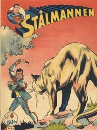 Cover Thumbnail for Stålmannen (Centerförlaget, 1949 series) #6/1952