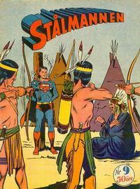Cover Thumbnail for Stålmannen (Centerförlaget, 1949 series) #9/1952