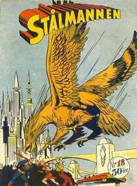 Cover Thumbnail for Stålmannen (Centerförlaget, 1949 series) #18/1952