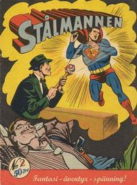 Cover Thumbnail for Stålmannen (Centerförlaget, 1949 series) #2/1954