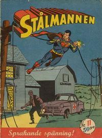 Cover Thumbnail for Stålmannen (Centerförlaget, 1949 series) #11/1954