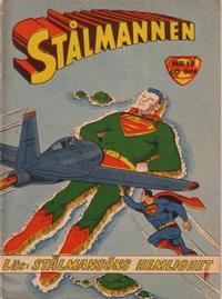 Cover Thumbnail for Stålmannen (Centerförlaget, 1949 series) #19/1957