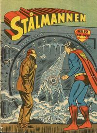Cover Thumbnail for Stålmannen (Centerförlaget, 1949 series) #10/1958