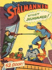 Cover Thumbnail for Stålmannen (Centerförlaget, 1949 series) #25-26/1958