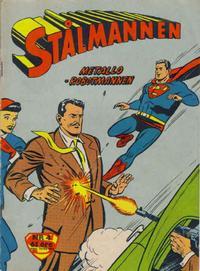 Cover Thumbnail for Stålmannen (Centerförlaget, 1949 series) #4/1960