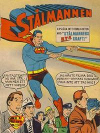 Cover Thumbnail for Stålmannen (Centerförlaget, 1949 series) #3/1963