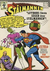 Cover Thumbnail for Stålmannen (Centerförlaget, 1949 series) #8/1966