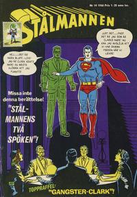 Cover Thumbnail for Stålmannen (Centerförlaget, 1949 series) #14/1966