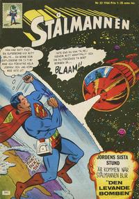 Cover Thumbnail for Stålmannen (Centerförlaget, 1949 series) #22/1966