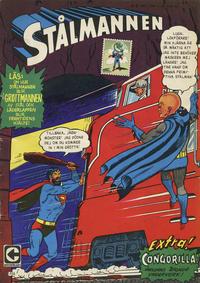 Cover Thumbnail for Stålmannen (Centerförlaget, 1949 series) #3/1967