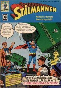 Cover Thumbnail for Stålmannen (Centerförlaget, 1949 series) #14/1967