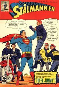 Cover Thumbnail for Stålmannen (Centerförlaget, 1949 series) #8/1968