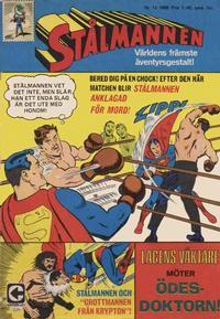 Cover Thumbnail for Stålmannen (Centerförlaget, 1949 series) #12/1968