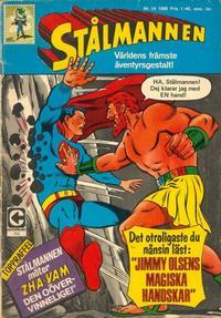 Cover Thumbnail for Stålmannen (Centerförlaget, 1949 series) #14/1968
