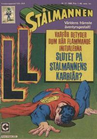 Cover Thumbnail for Stålmannen (Centerförlaget, 1949 series) #17/1968