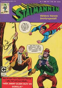 Cover Thumbnail for Stålmannen (Centerförlaget, 1949 series) #7/1969