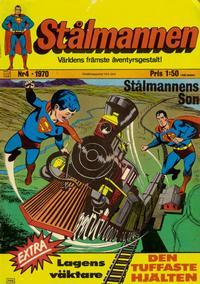 Cover Thumbnail for Stålmannen (Williams Förlags AB, 1969 series) #4/1970