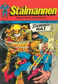 Cover Thumbnail for Stålmannen (Williams Förlags AB, 1969 series) #8/1971