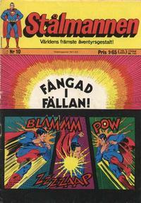 Cover Thumbnail for Stålmannen (Williams Förlags AB, 1969 series) #10/1971