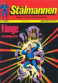 Cover Thumbnail for Stålmannen (Williams Förlags AB, 1969 series) #11/1971