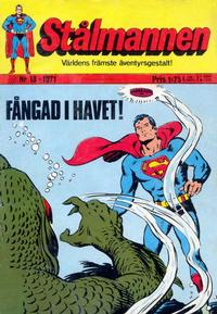 Cover Thumbnail for Stålmannen (Williams Förlags AB, 1969 series) #13/1971