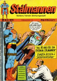 Cover Thumbnail for Stålmannen (Williams Förlags AB, 1969 series) #9/1972