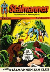 Cover Thumbnail for Stålmannen (Williams Förlags AB, 1969 series) #3/1973