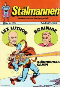 Cover Thumbnail for Stålmannen (Williams Förlags AB, 1969 series) #10/1973