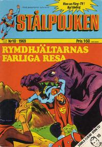 Cover Thumbnail for Stålpojken (Williams Förlags AB, 1969 series) #10/1969