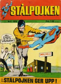 Cover Thumbnail for Stålpojken (Williams Förlags AB, 1969 series) #4/1970
