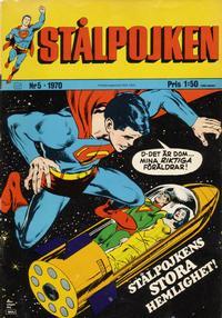 Cover Thumbnail for Stålpojken (Williams Förlags AB, 1969 series) #5/1970