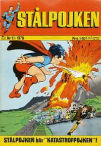 Cover Thumbnail for Stålpojken (Williams Förlags AB, 1969 series) #11/1970