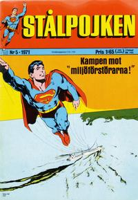 Cover Thumbnail for Stålpojken (Williams Förlags AB, 1969 series) #5/1971