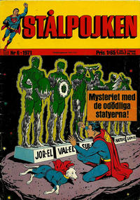 Cover Thumbnail for Stålpojken (Williams Förlags AB, 1969 series) #6/1971