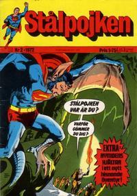 Cover Thumbnail for Stålpojken (Williams Förlags AB, 1969 series) #2/1972