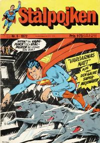 Cover Thumbnail for Stålpojken (Williams Förlags AB, 1969 series) #5/1972