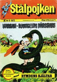 Cover Thumbnail for Stålpojken (Williams Förlags AB, 1969 series) #8/1972