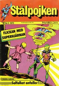 Cover Thumbnail for Stålpojken (Williams Förlags AB, 1969 series) #3/1973