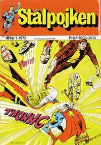 Cover Thumbnail for Stålpojken (Williams Förlags AB, 1969 series) #7/1973
