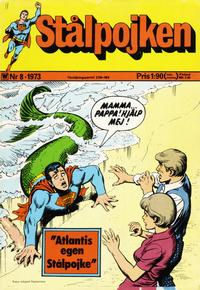 Cover Thumbnail for Stålpojken (Williams Förlags AB, 1969 series) #8/1973