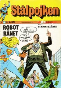 Cover Thumbnail for Stålpojken (Williams Förlags AB, 1969 series) #9/1974